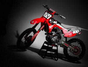Josh Hansen CRF250 Dekor 2020 Graphics Custom