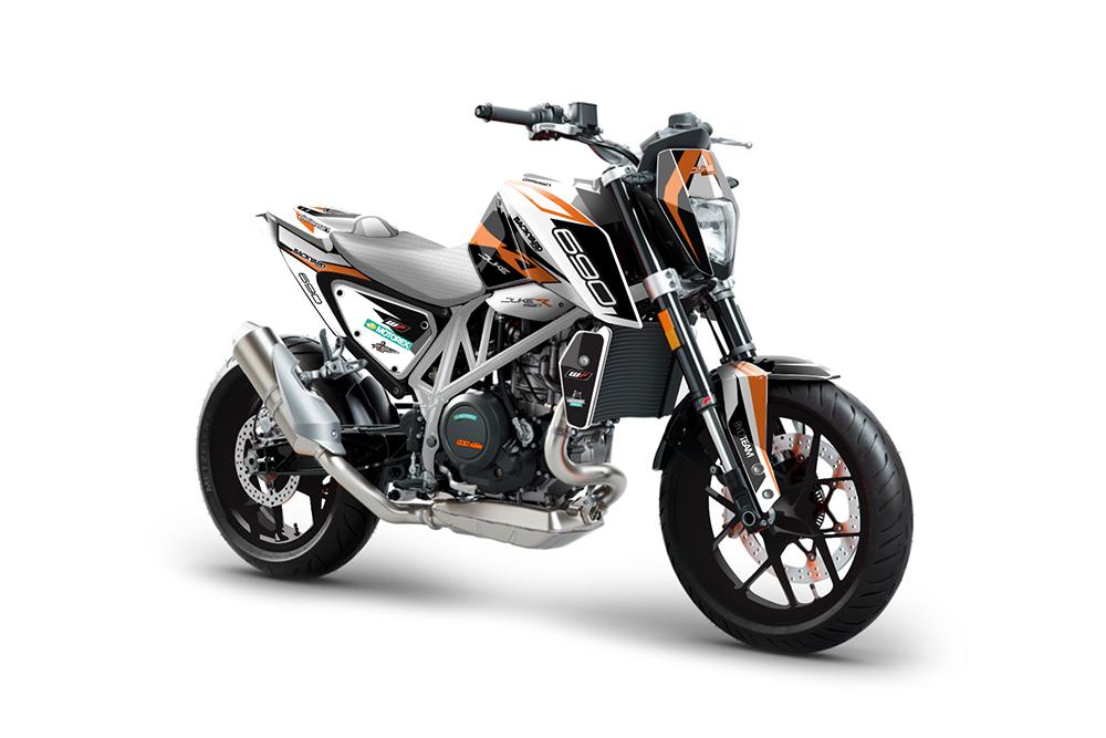 KTM Duke 690 – 2012-2019 Backyard Design Supermoto Dekor Kit - General Pro