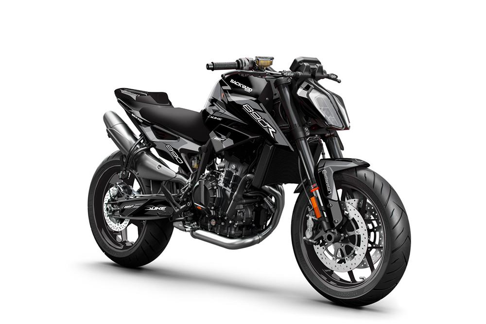 KTM Duke 890R 2020-2022 Backyard Design Supermoto Dekor Kit - Prime Pro