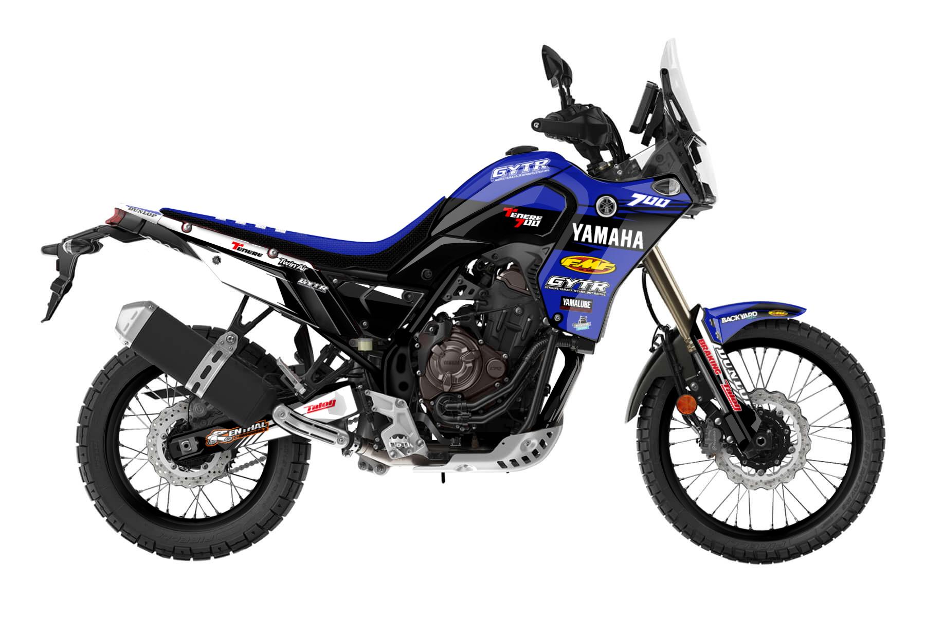 Yamaha Ténéré 700 19-22  - Factory Pro - Backyard Design