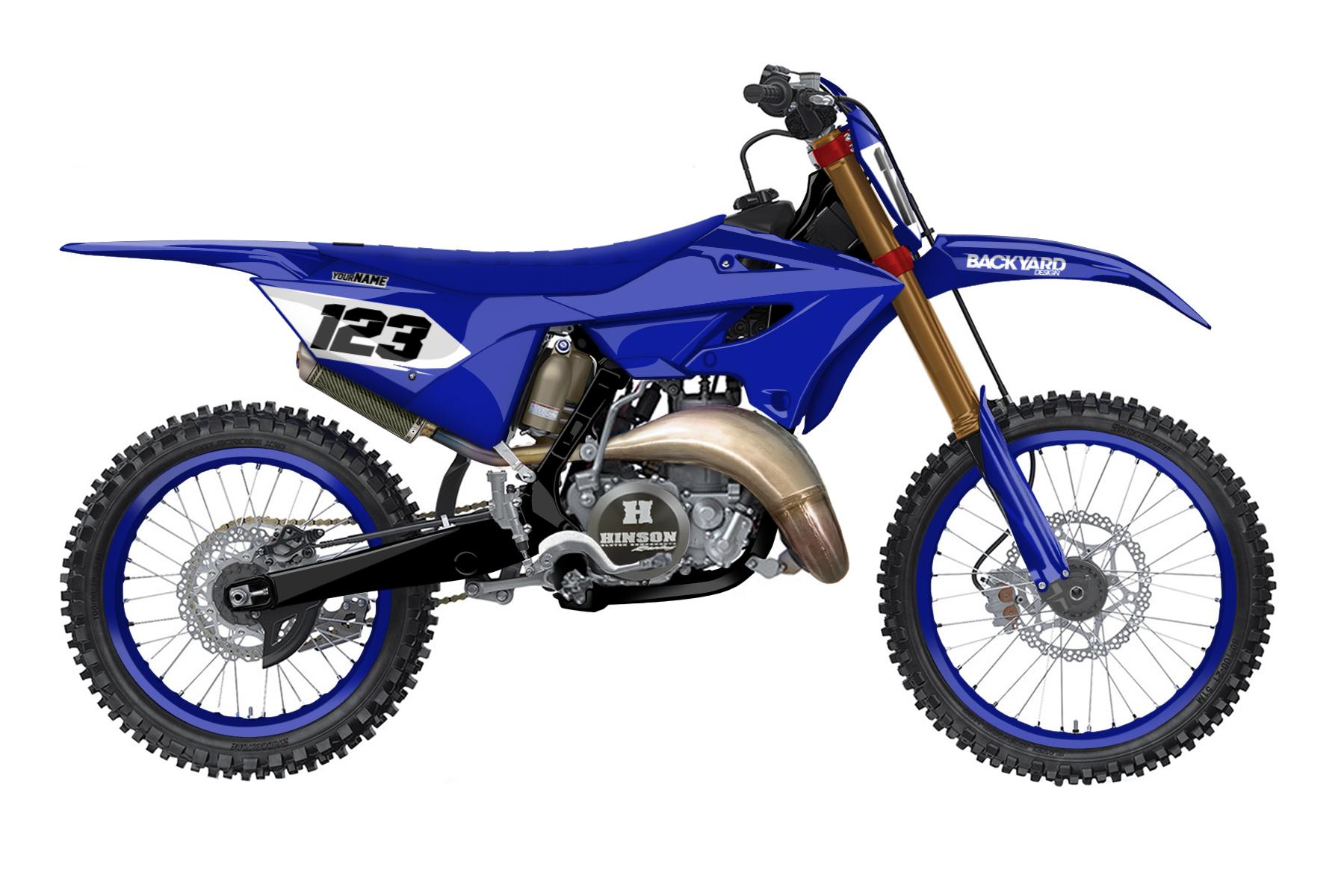 Yamaha YZ 250 - 2022 - Backyard Design - Mx Dekor - Blanko Design