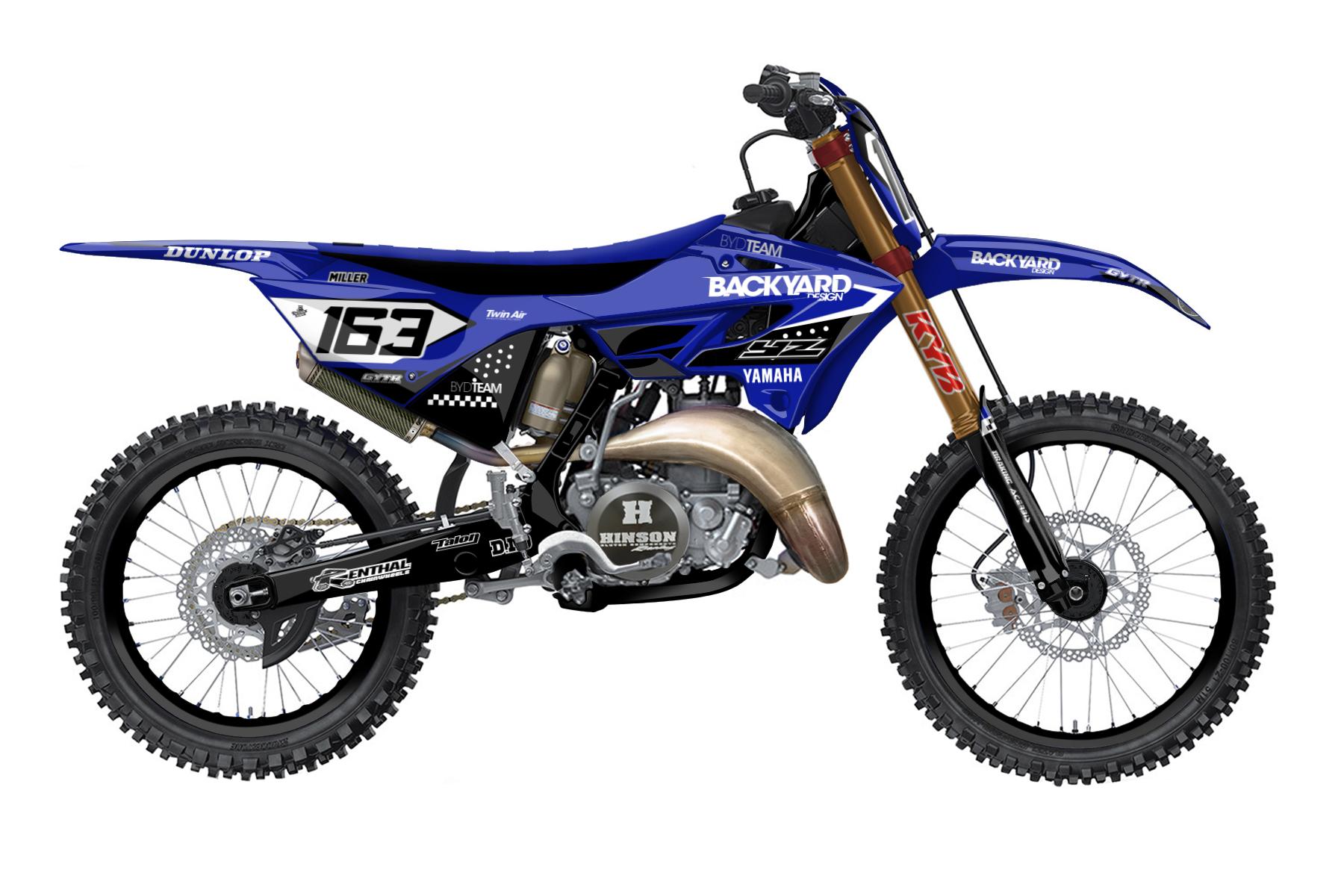 Yamaha YZ 250 - 2022 - Backyard Design - Mx Dekor - Feature Design