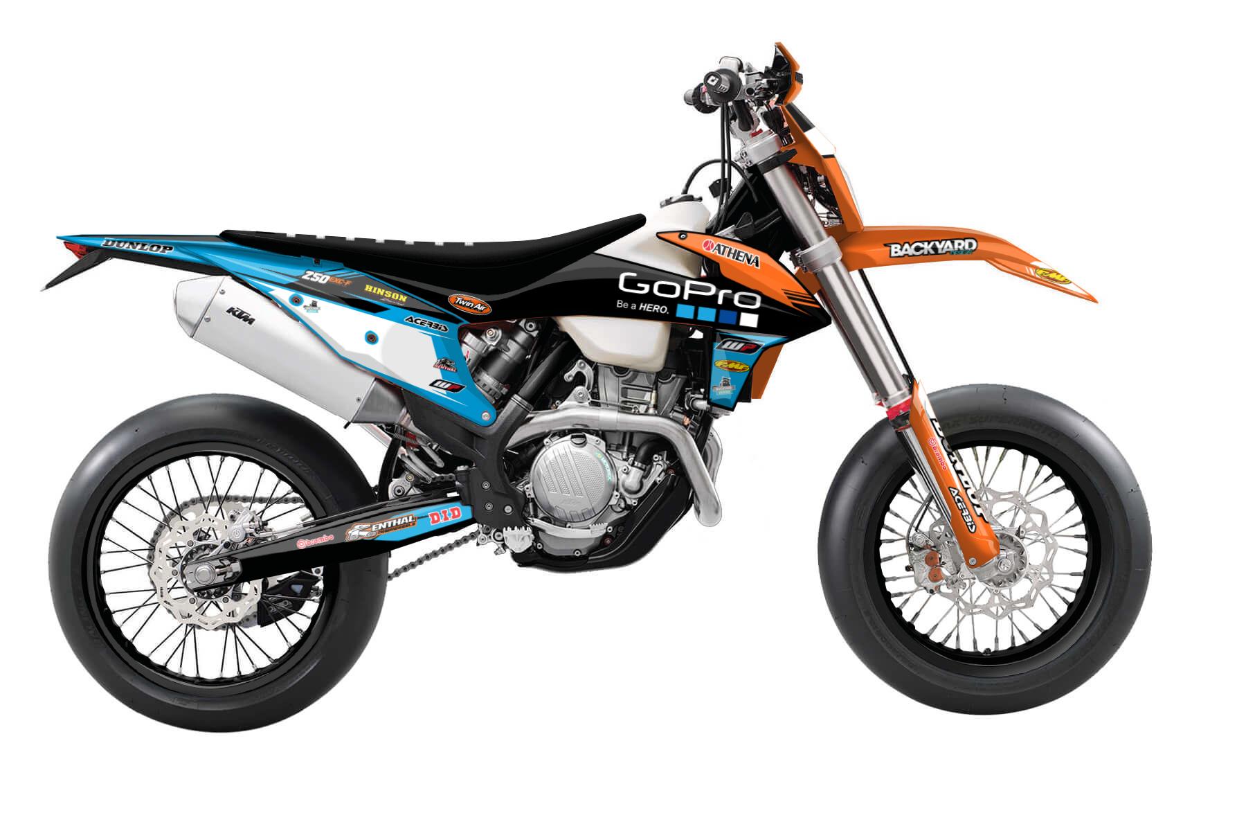 KTM EXC Dekor 2020-2022 - Factory Pro - Backyard Design
