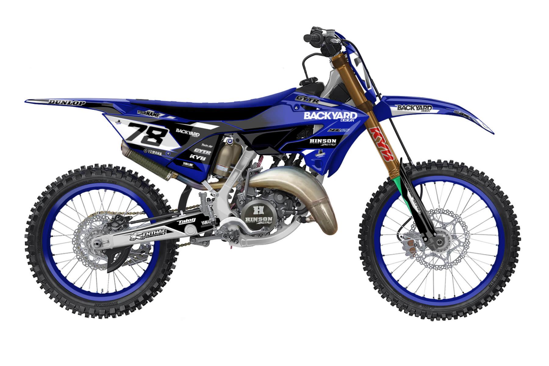 Yamaha YZ 250 - 2022 - Backyard Design - Mx Dekor - Division Basic