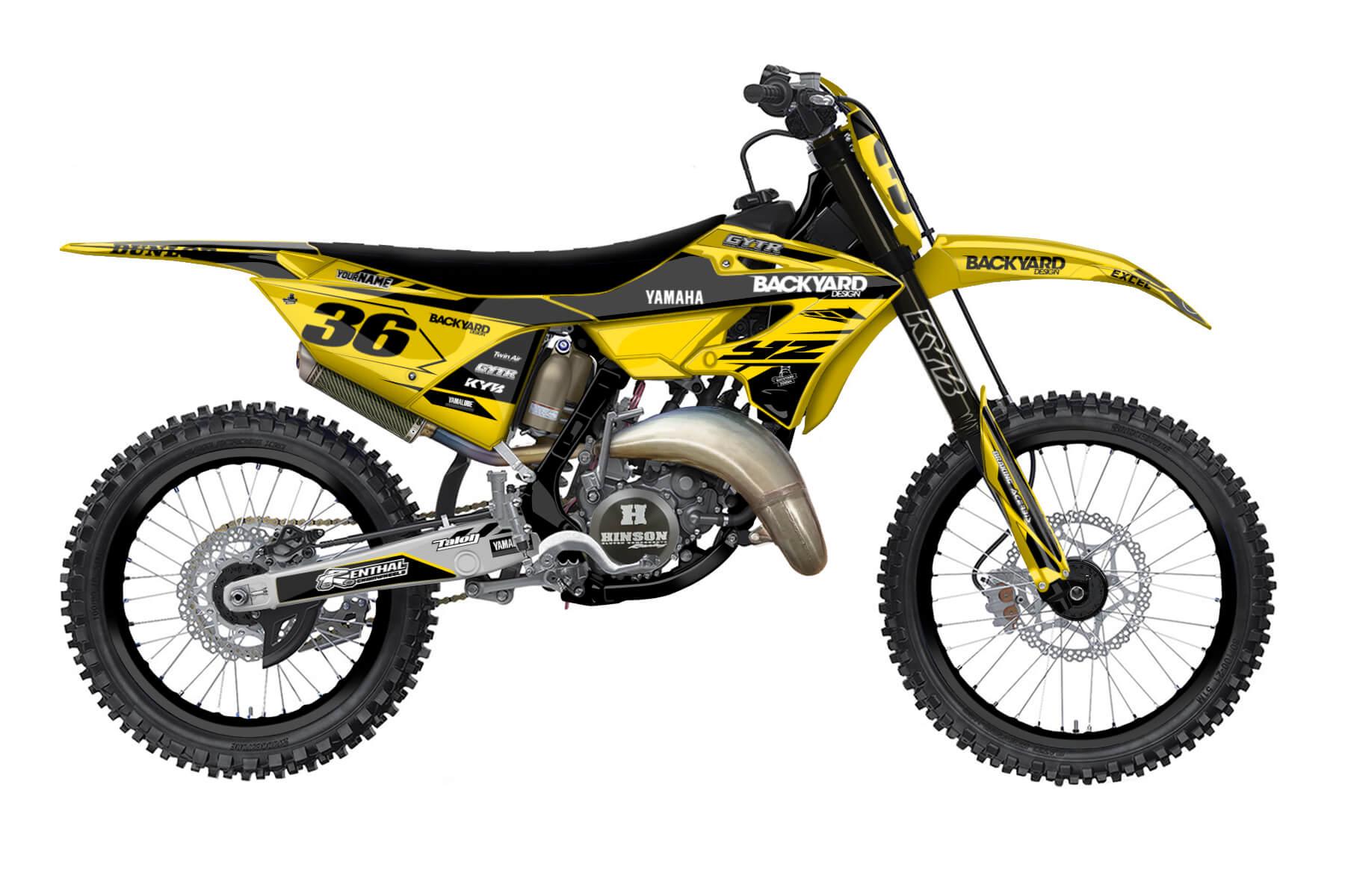 Yamaha YZ 250 - 2022 - Backyard Design - Mx Dekor - Division Flow