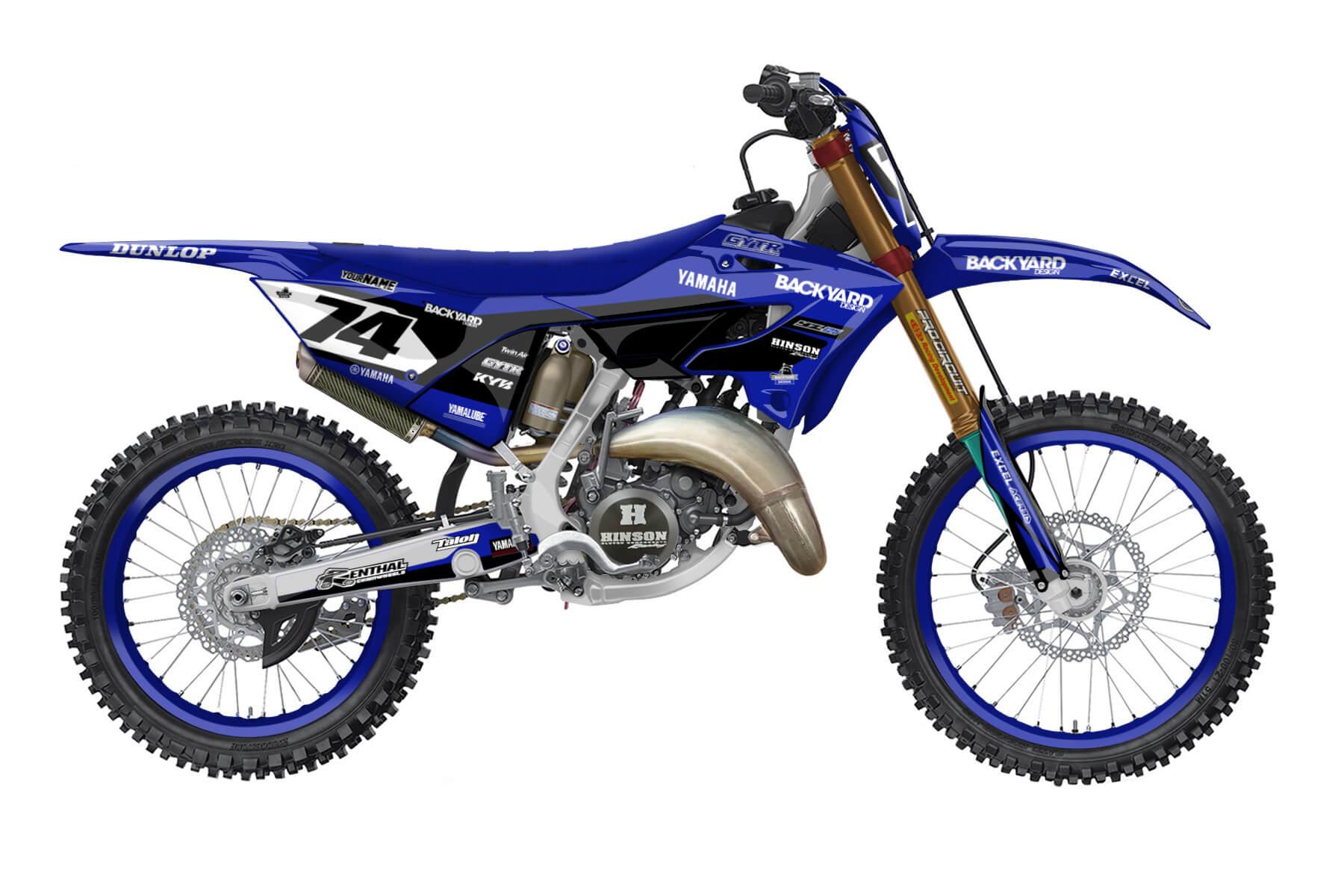 Yamaha YZ 250 - 2022 - Backyard Design - Mx Dekor - General Basic