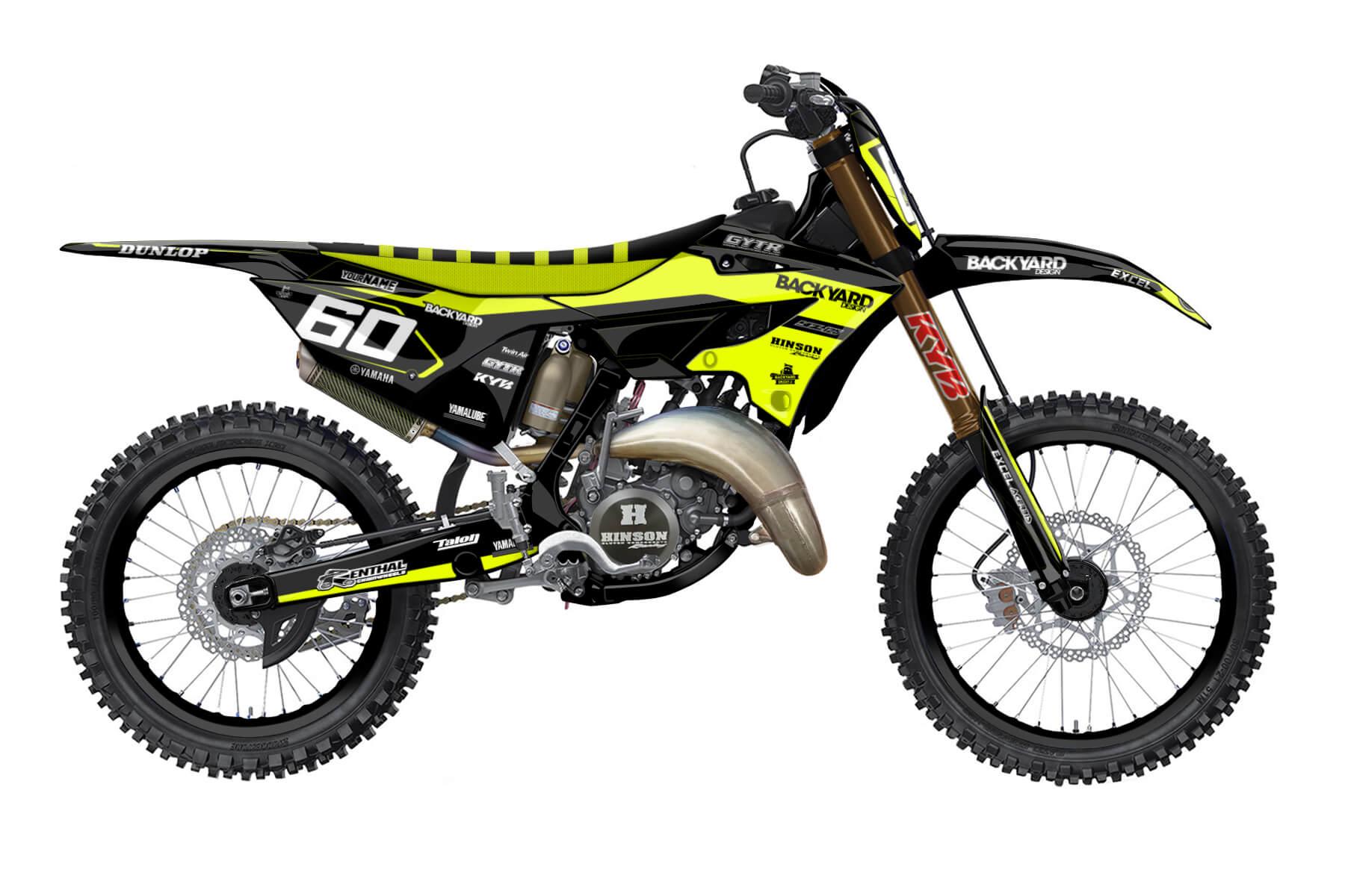 Yamaha YZ 250 - 2022 - Backyard Design - Mx Dekor - General Neon