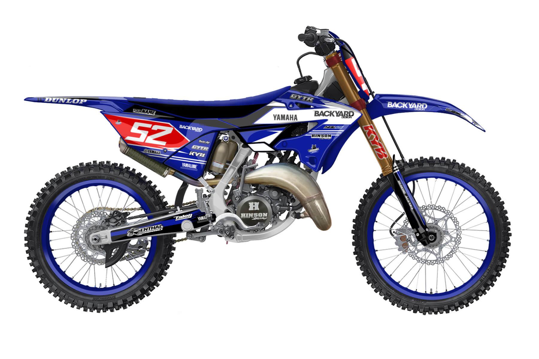 Yamaha YZ 250 - 2022 - Backyard Design - Mx Dekor - Limited Basic