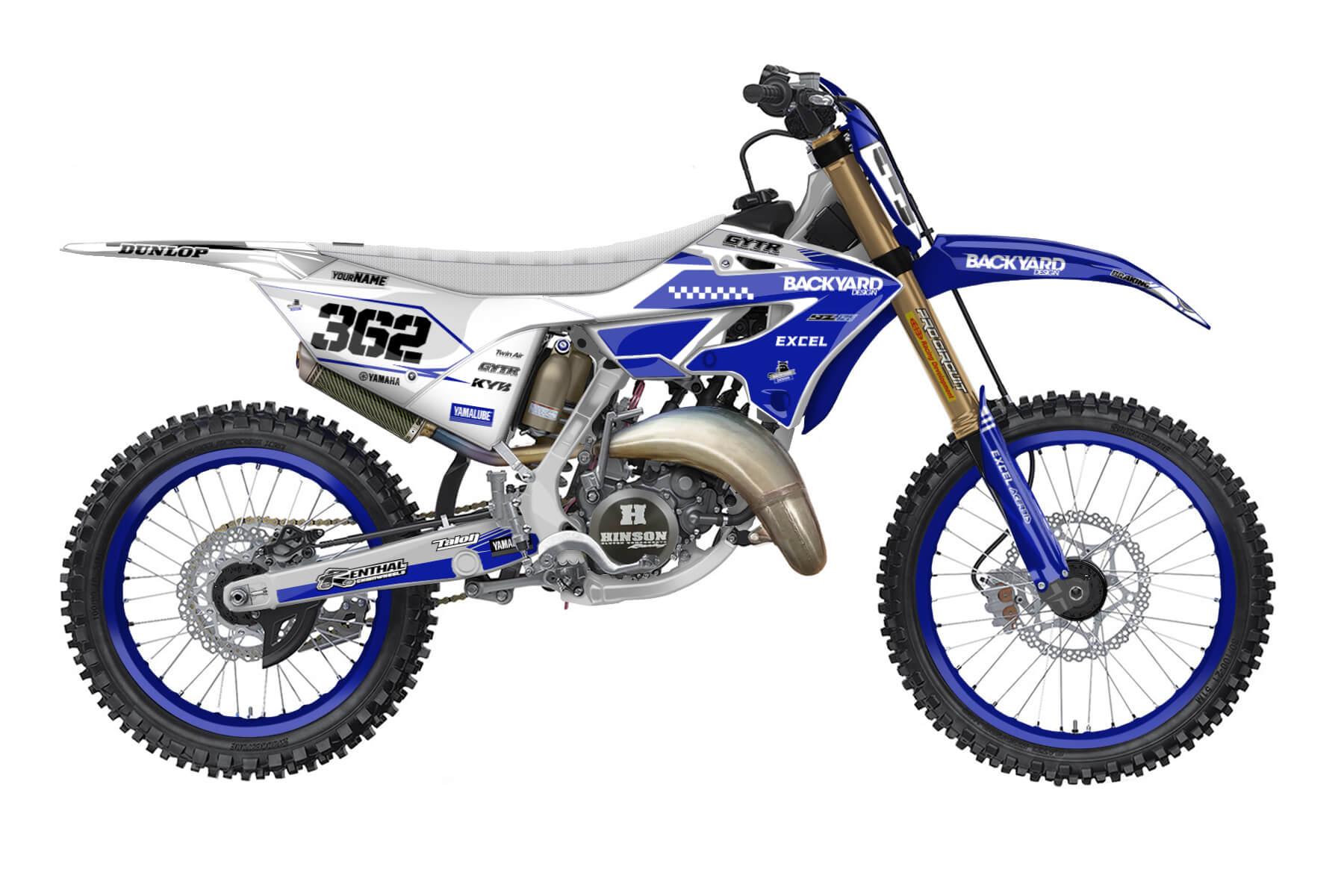 Yamaha YZ 250 - 2022 - Backyard Design - Mx Dekor - Feature Limited Pro