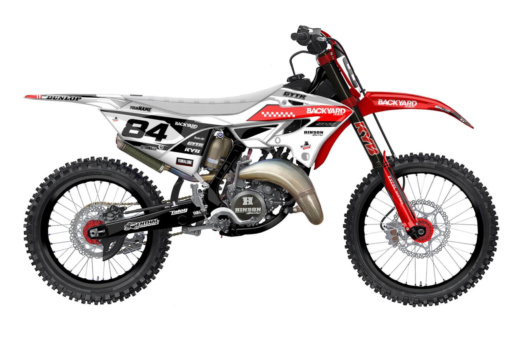 Yamaha YZ 250 - 2022 - Backyard Design - Mx Dekor - Metric Basic