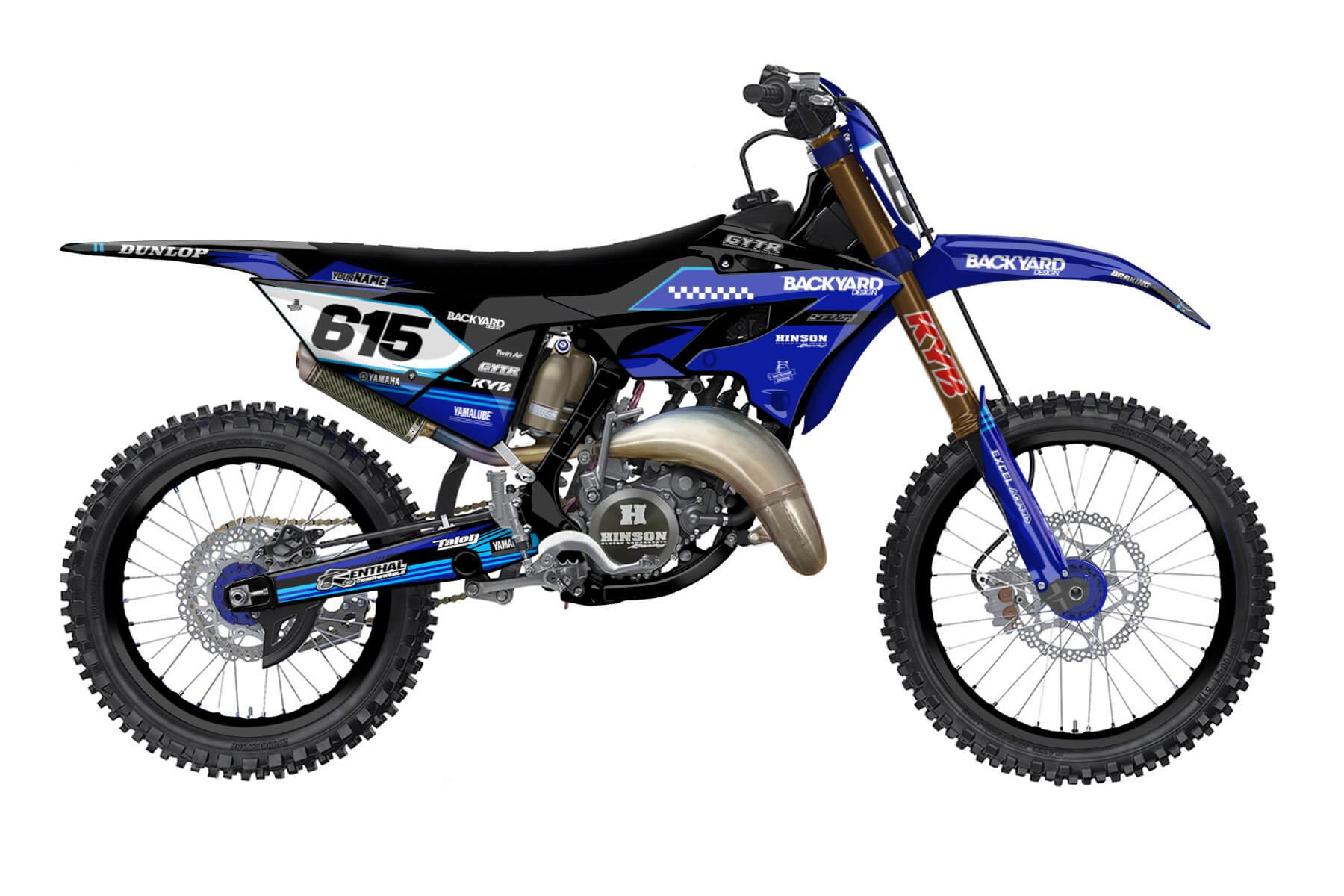 Yamaha YZ 250 - 2022 - Backyard Design - Mx Dekor - Metric Pro