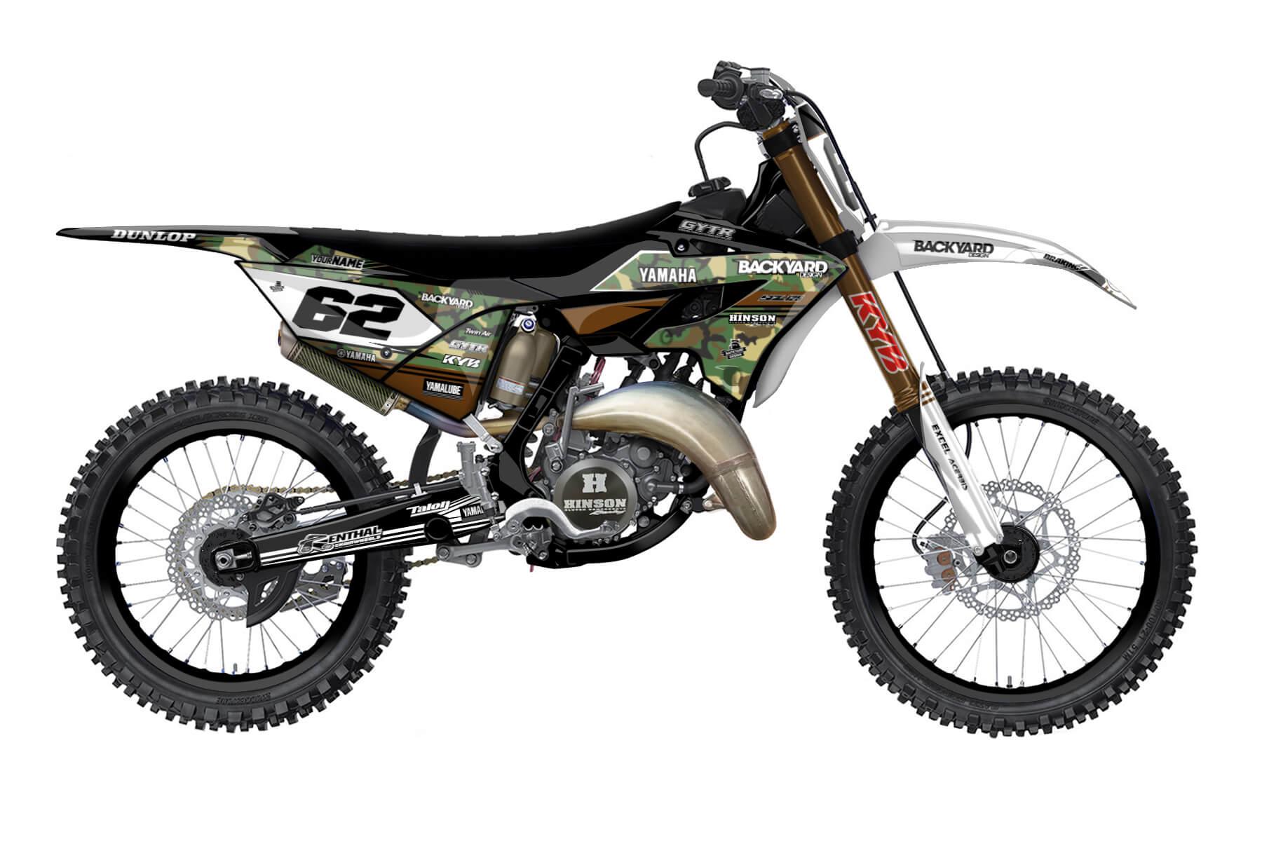 Yamaha YZ 250 - 2022 - Backyard Design - Mx Dekor - Modified Basic