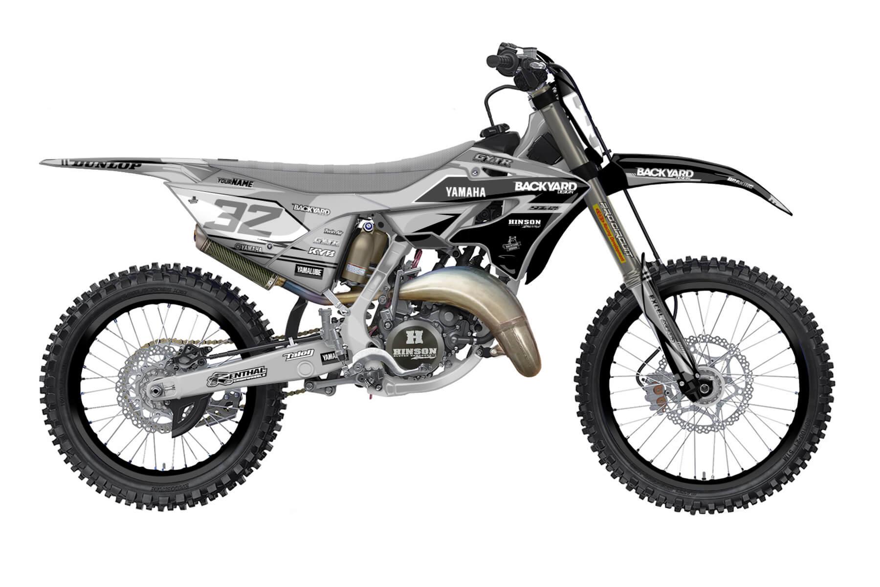 Yamaha YZ 250 - 2022 - Backyard Design - Mx Dekor - Modified Pro