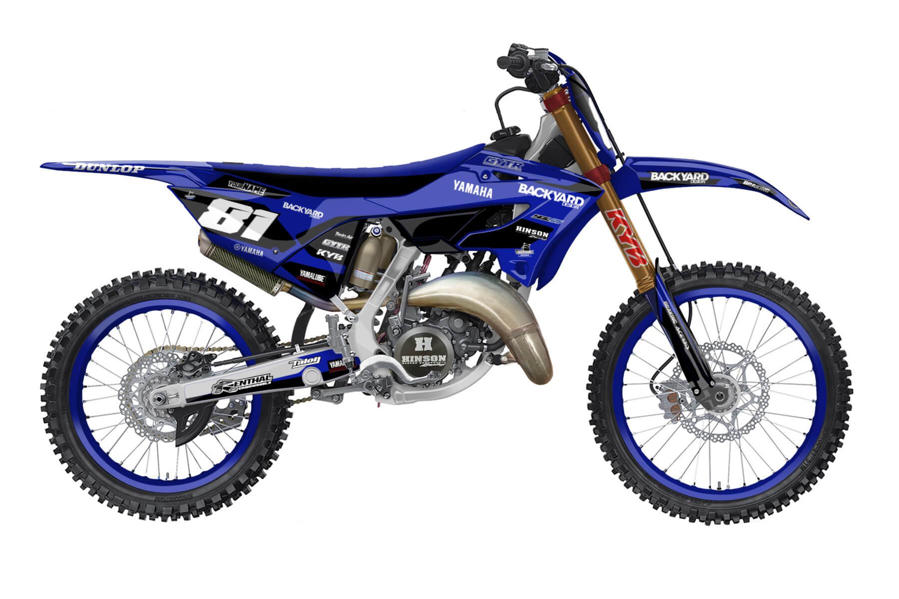 Yamaha YZ 250 - 2022 - Backyard Design - Mx Dekor - Prime Basic