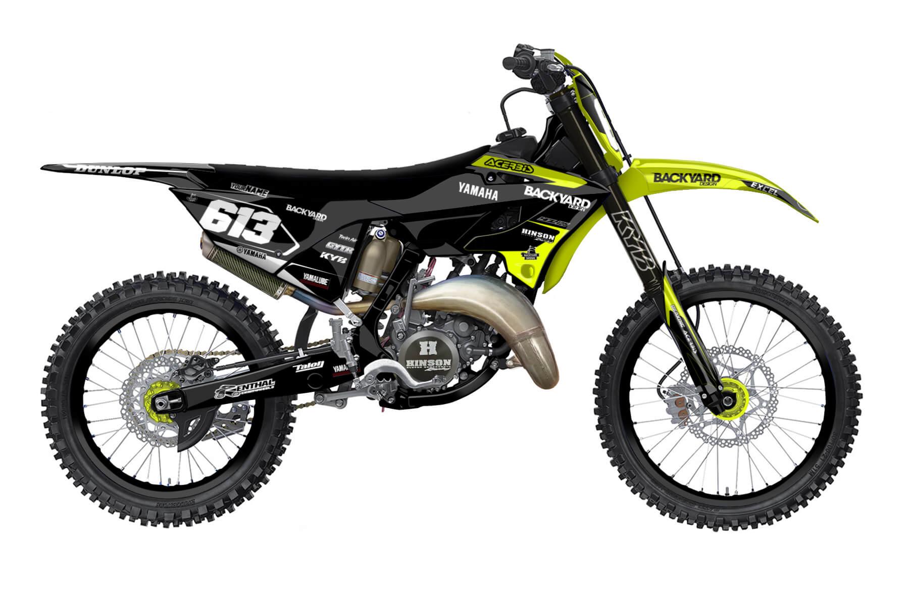 Yamaha YZ 250 - 2022 - Backyard Design - Mx Dekor - Prime Neon