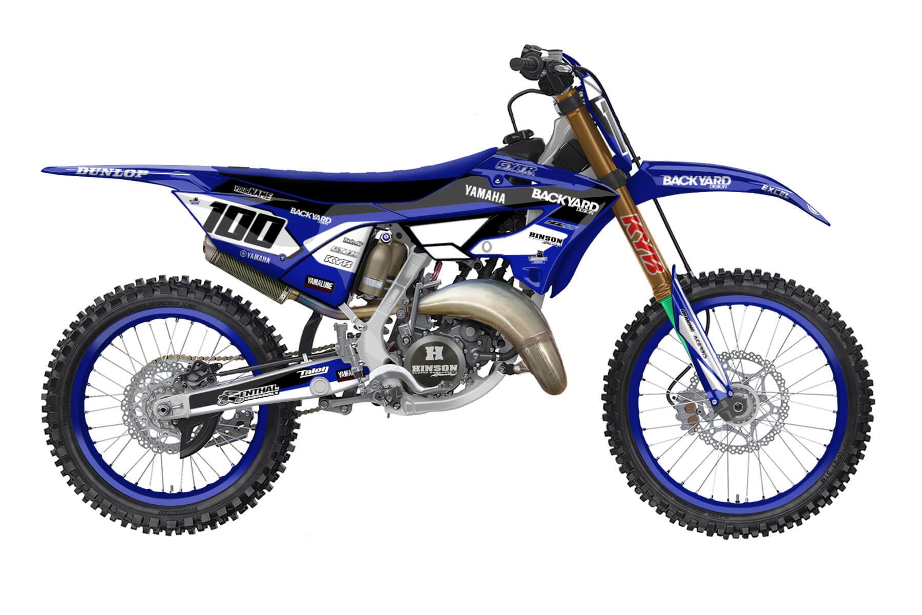 Yamaha YZ 250 - 2022 - Backyard Design - Mx Dekor - Prime Pro
