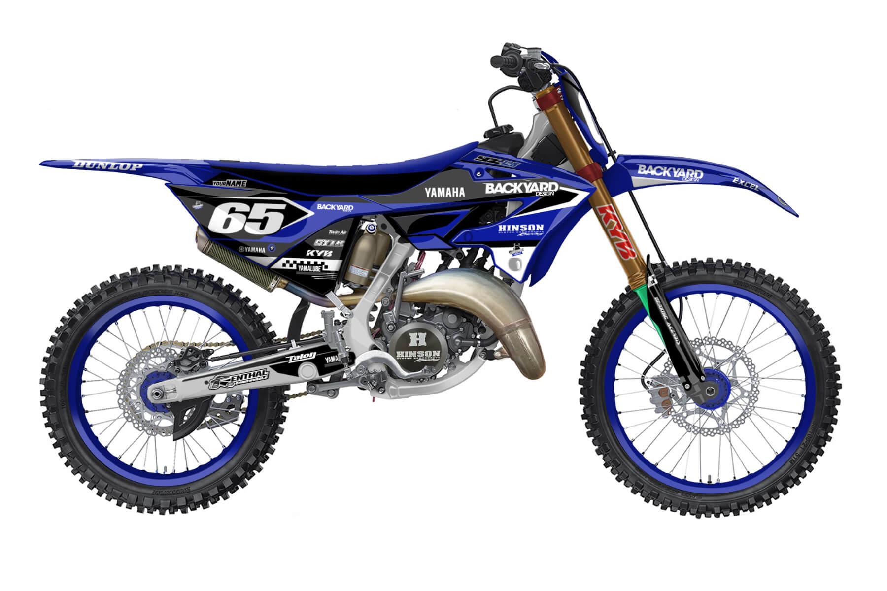 Yamaha YZ 250 - 2022 - Backyard Design - Mx Dekor - Staple Basic